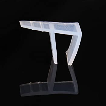 dDanke - Tira de sellado flexible para mampara de ducha (2 m de longitud, para cristal de 6-12 mm), 10 mm: Amazon.es: Hogar