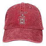 Dialog Außenseiter gehorchen Mütze Unisex verstellbare Tour Baumwolle gewaschenen Denim Caps Hüte für den Außenbereich