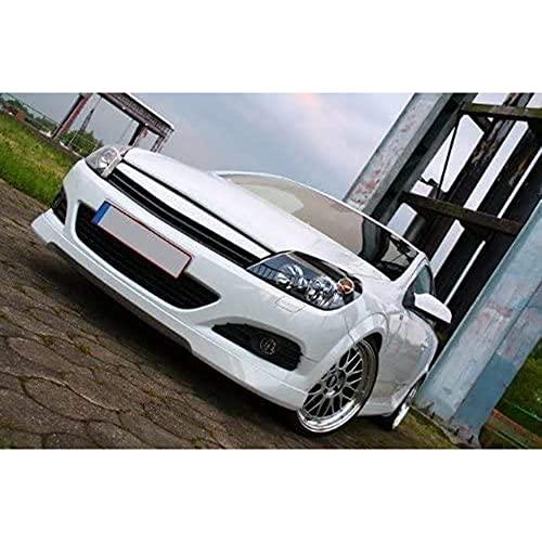 Para Opel Astra H GTC, Parrilla Radiador Parachoques Delantero Coche, Rejilla Malla RiñóN Central, Rejilla Carreras, Cubierta VentilacióN, Accesorios Estilo