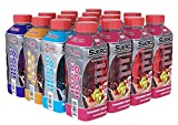 SueroX Zero Sugar Electrolyte Drink for Hydration and Recovery, Variety Pack, 21 Ounce, 12 Count