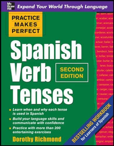 Spanish Verb Tenses (Practice Makes Perfect)の詳細を見る