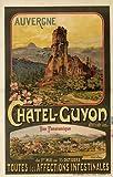 Chatel Guyon Auvergne Poster, Reproduktion, Format 50 x 70