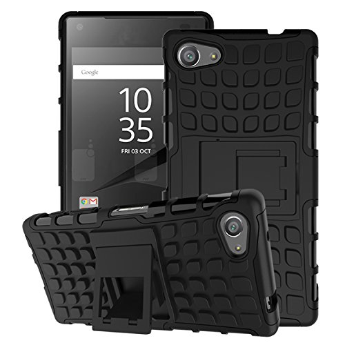 MoKo Funda para Sony Xperia Z5 Compact 2015 - Heavy Duty Rugged Dual Layer Armor...