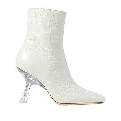 Simon Miller Foxy Boot (White Croc) Women