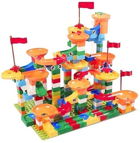 1yess Modell Große Partikel Kid's Folien Bausteine Spielzeug Spuren Montage Puzzle 3-8 Jahre alt, Best Gi, Größe: 176 Stück Puzzle 8bayfa
