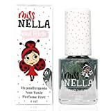 Miss Nella NEW Magic collection BIBBIDI BOBBIDI BOO- Special Blue sparkle Nail Polish for Kids, with Peel-off, Water Based & Odour Free Formula