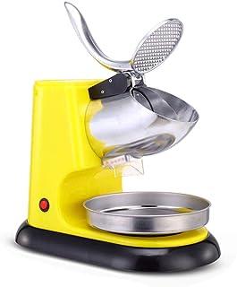 LXZZJ 電気アイスクラッシャー、かみそりシュレッダー、アイスクリーム用スノーコーンメーカー、冷たい飲み物、フルーツデザート、カクテル、家庭用および商業用 (Color : A)
