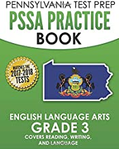 PENNSYLVANIA TEST PREP PSSA Practice Book English Language Arts Grade 3: Covers Reading, Writing, and Language