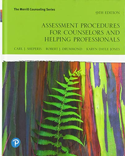 Assessment Procedures for Counselors and Helping Professionals (The Merrill Counseling Series)