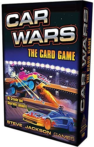 Car Wars Card Game by Steve Jackson Games