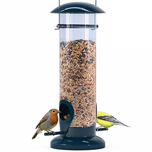 Best bird feeders for winter:Nibble Weather Proof Anti-Bacterial Bird Feeder