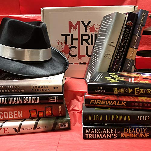 My Thrill Club - Monthly Book Subscription Box - Mystery