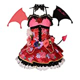 Anime Kotori Minami Cosplay Girl Sexy Demon Fancy Dress Costume