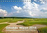 2016 Kalender Golfplätze