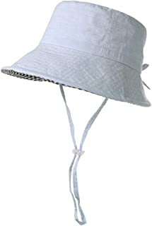 Packable Bucket for Women Men with String Sun Hat SPF 50 Fishing Summer Beach Travel Cap 56-60cm