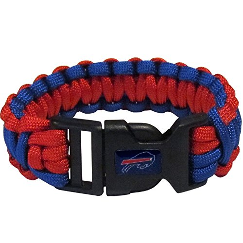 NFL Siskiyou Sports Fan Shop Buffalo Bills Survivor Bracelet One Size Team Color