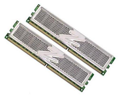 OCZ PC 2-5400, Dual Channel, DDR2, 800 MHz, 2 GB RAM, PC-Arbeitsspeicher-Kit, 4-4- 4-15-OCZ2P800R22GK