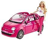 Mattel Y6857 barbie Fiat Car with Doll