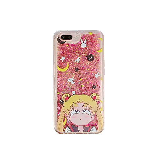 d7c2864a6e Pink Glitter Flowing Case for iPhone 7+ 7Plus 8+ 8Plus Large Size 5.5 Screen