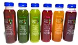 Juice Cleanse 'Skinny' Cleanse 1 Day - 6 Bottles Organic Green Foods