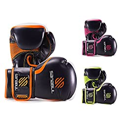 top rated Essential Boxing Gloves, Orange, 8 oz 2021