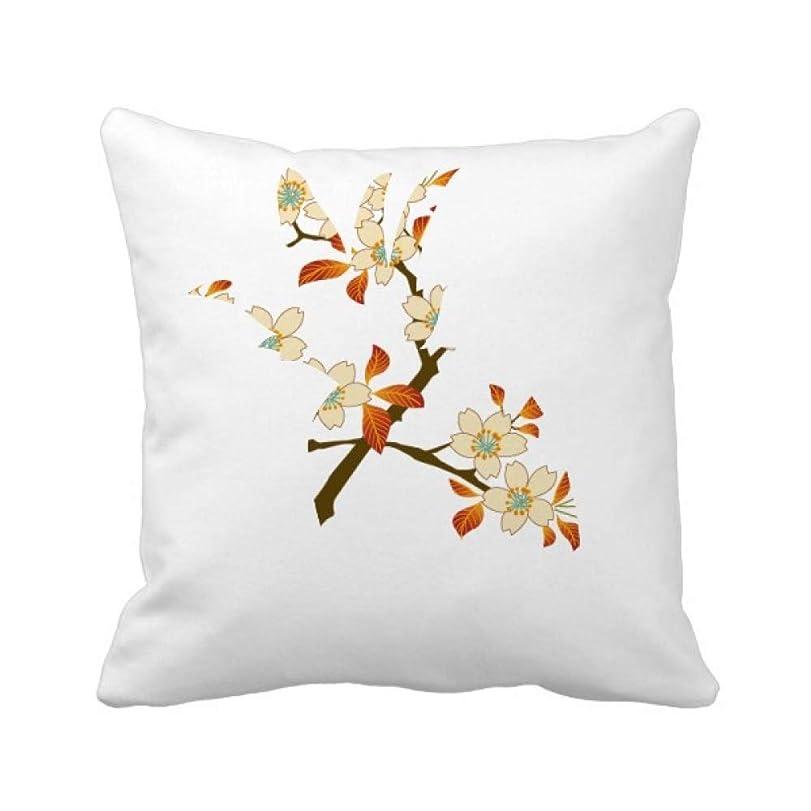 入手します豊かにする抹消花の植物の葉の壁のパターンの壁紙 パイナップル枕カバー正方形を投げる 50cm x 50cm