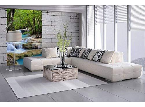 Vlies Fototapete WASERFALL 150 x 250 cm   Vliestapete - Wandtapete für Wohnzimmer Schlafzimmer Büro Flur   PREMIUM QUALITÄT - MADE IN EU - Inklusive Tapetenkleber