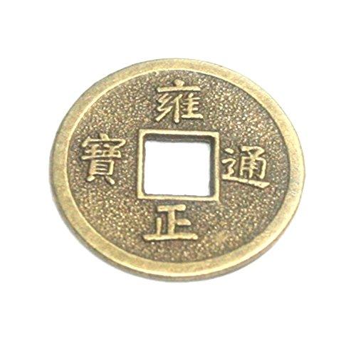 Chinesische Glücks Münze 1 St. ca. 46 mm Feng Shui Amulett