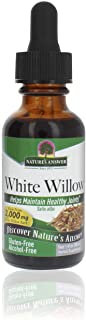 Nature's Answer Alcohol-Free White Willow Bark Extract, 1-Fluid Ounce Alcohol Free | Super Concentrated | Vegetarian, Non-...