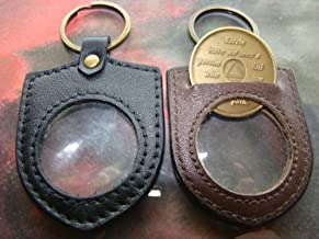 Best aa medallion keychain holder leather Reviews