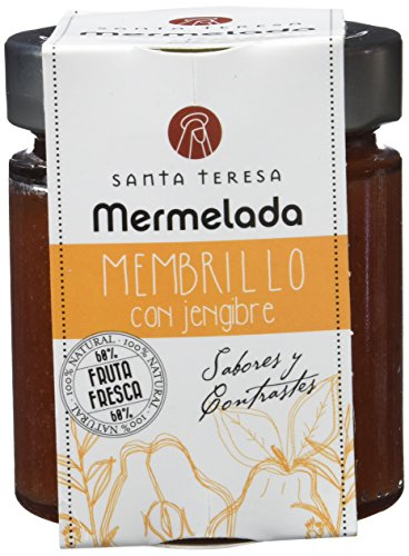 Santa Teresa Mermelada de Membrillo con Jengibre - 2 Paquetes de 240 gr - Total: 480 gr