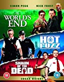 Three Flavours Cornetto Trilogy: The World's End / Hot Fuzz / Shaun of the Dead [Blu-ray] [Reino Unido]