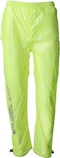 Prettyia Men's Women's Cycling Rain Suit Waterproof Hooded Rainwear Pants Skin Coat Jersey Bicycle Windproof Jacket High Visibility, Reflective, Ultrathin