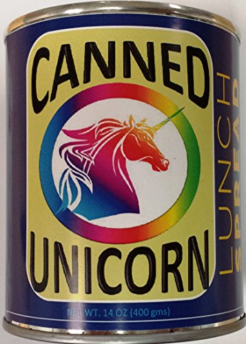 Canned Unicorn Meat Lunch Spread Gag Gift!