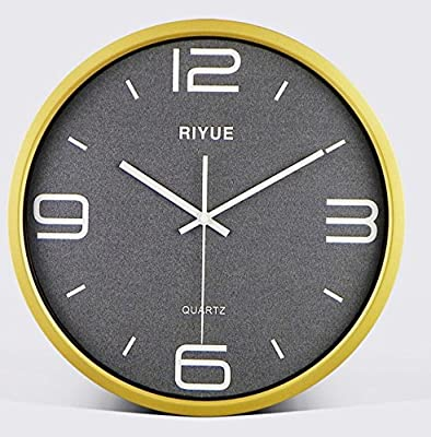 FortuneVin Wall Clock Silent Movement Wall Clock Home Office Decor For  Living Room Bedroom And Kitchen 723a8015984