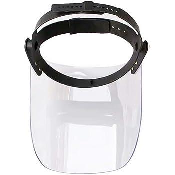 Dihope Visi/ères de S/écurit/é Chapeau de Visage Protection Cap Anti-Cracher /Écran Facial Transparent Casquette Anti-bu/ée Ext/érieur en Plein Air
