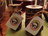 "12"" Mushroom Log DIY Shiitake Mushrooms Ready to Grow Your Own"