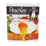 Poachies Egg poaching Bags, 17 x 13.5 x 3 cm, Pack of 100