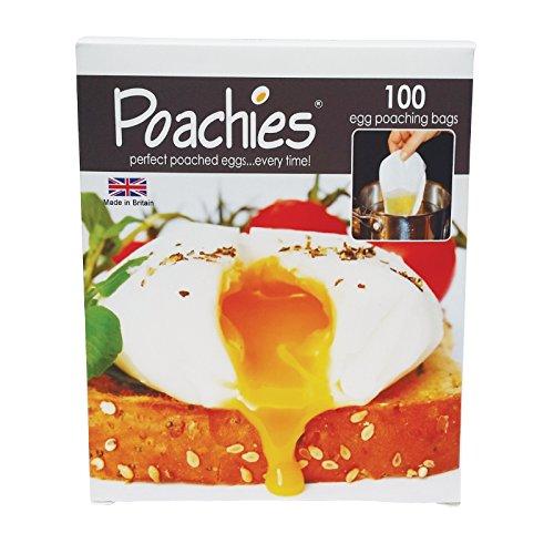 Kenley Beutel für pochierte Eier, 13,5 x 3 cm, 100Stück