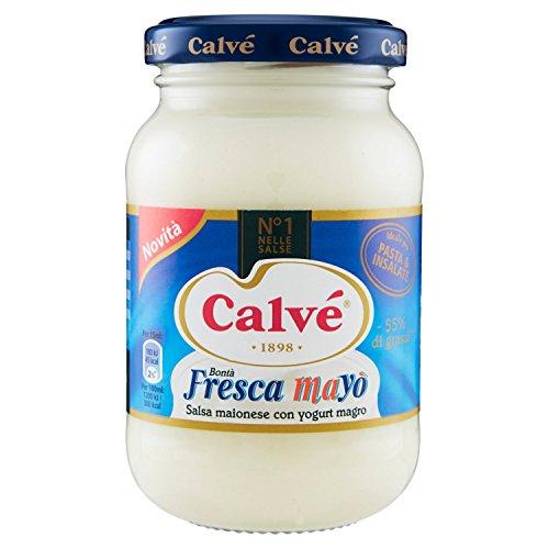 Calvé Fresca Mayò in Vasetto da 225ml, con Yogurt Magro