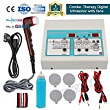 Physiogears Electro Physiotherapy Combination Tens with Ultrasonic Machine Combo (White)