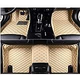 QWERQF Coche Alfombrillas de Coche Accesorios de Coche Alfombra Alfombra,para Bentley Mulsanne 2011~2015 Continental 2012~2017 Flying Spur 2010~2014 Beige