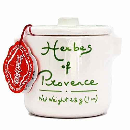 Aux Anysetiers du Roy, Herbes de Provence in Ceramic Crock, 1 Oz