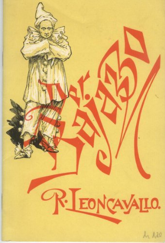 Der Bajazzo : Drama in zwei Akten und einem Prolog.
