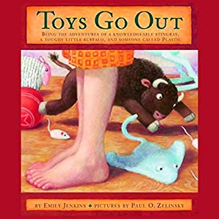 Toys Go Out audiobook cover art