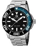 [グッチ] 腕時計 ダイバー ブラック文字盤 YA126281 メンズ 並行輸入品 シルバー