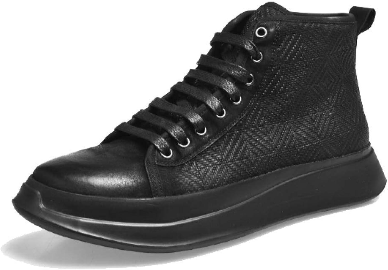 YCGCM Männer Schuhe High-top Casual Britischen Martin Stiefel Spitze Tragbar Bequem Zu Fuß B07HF8S3HZ  | eine große Vielfalt