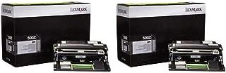 Lexmark 50F0Z00 Return Program Imaging Unit 2-Pack for MX410, MX510, MX610