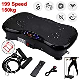 shoze Fitness Plate Vibration Plate Crazy Body Shaker Massage Fitness Bluetooth Oscillating Power