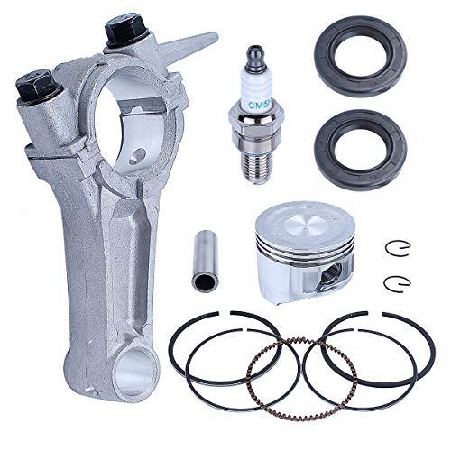 Adefol 68mm Anillos de pistón Biela Cigüeñal Sello de Aceite Kit para Honda GX160 Chino 168F 5.5HP Motor 13200-ZE1-010 13200-ZE1-010